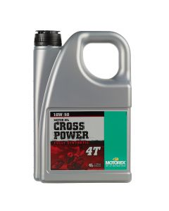 Motorex 10W50 4T - Cross Power Engine Oil - 4 Litre