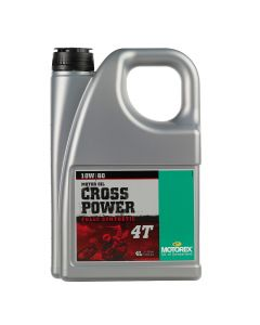 Motorex 10W60 4T - Cross Power Engine Oil - 4 Litre