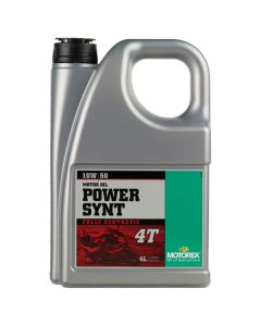 Motorex 10W50 4T - Power Synt Engine Oil - 4 Litre