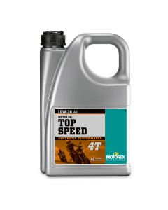Motorex 10W30 4T - Top Speed  Engine Oil - 4 Litre