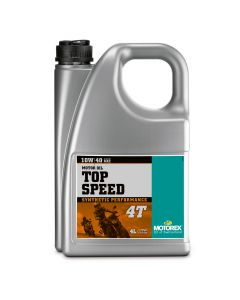 Motorex 10W40 4T - Top Speed  Engine Oil - 4 Litre