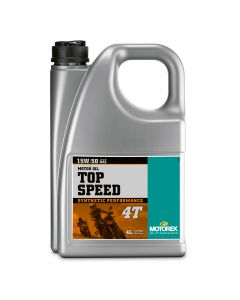 Motorex 15W50 4T - Top Speed  Engine Oil - 4 Litre