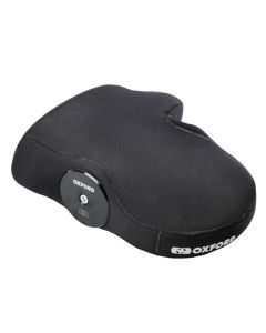 Oxford Winter Motorcycle / Scooter Weatherproof Neoprene Bar End Muffs - Black