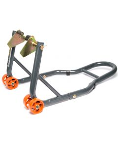 MPW Race Dept - Motorcycle Front Paddock Stand in Grey/Orange