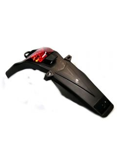 Rear Tail Light Assembly with Mudguard - LED - Sinnis Apache 125