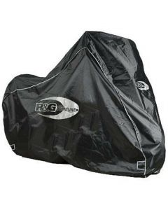 R&G Motorcycle Adventure Bike Outdoor Waterproof Protective Rain Cover - Black