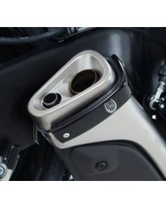 R&G Racing Exhaust Protector - Black