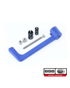 R&G Racing Lever Guard (Blue) - BMW S1000 (R, RR) (13-)