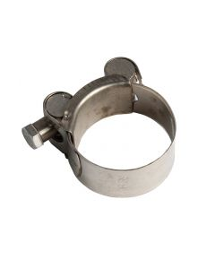 Heavy Duty Stainless Steel Motorcycle Exhaust Clamp (Packs of 1-10) 36 - 39mm