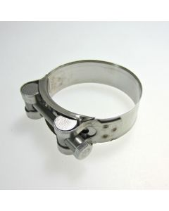 Stainless Steel Motorcycle Exhaust Clamp 56-59mm