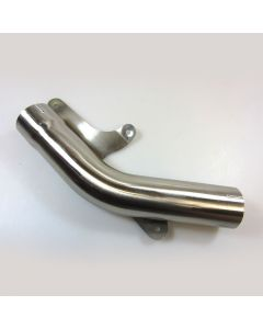 Kawasaki ZX-10R 08-10 Stainless Steel De-cat Pipe with Clamps