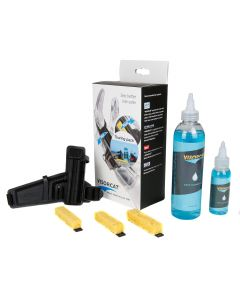 Visorcat Touring Motorcycle Helmet Visor Wipe System Cleaning Wash Kit