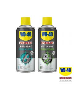 WD40 Saver Pack with Specialist Motorcycle Chain Lube & Cleaner 400ml