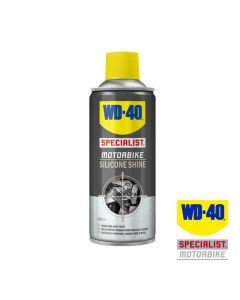 WD40 Specialist Motorcycle Silicone Shine 400ml