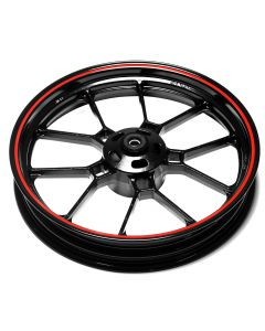 Front Wheel - Red Rim - Sinnis RSX 125