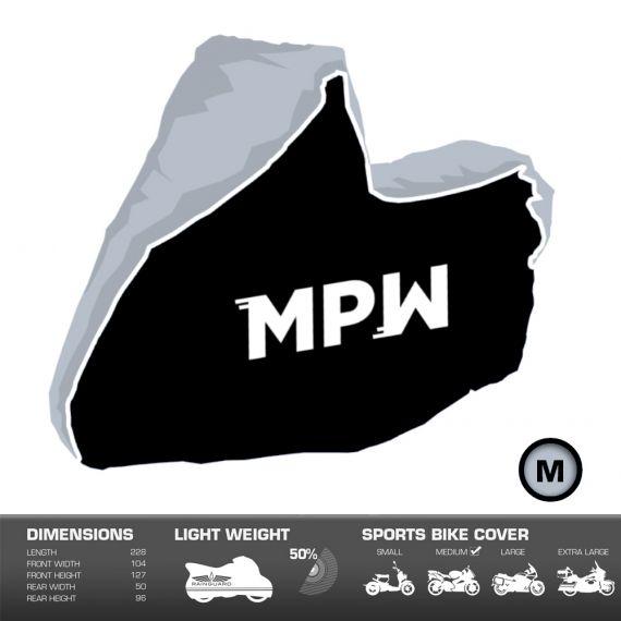 MPW Waterproof Moped Scooter Outdoor Rain / Dust Cover - Medium