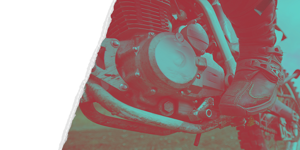 Motorcycle Engine and Transmission