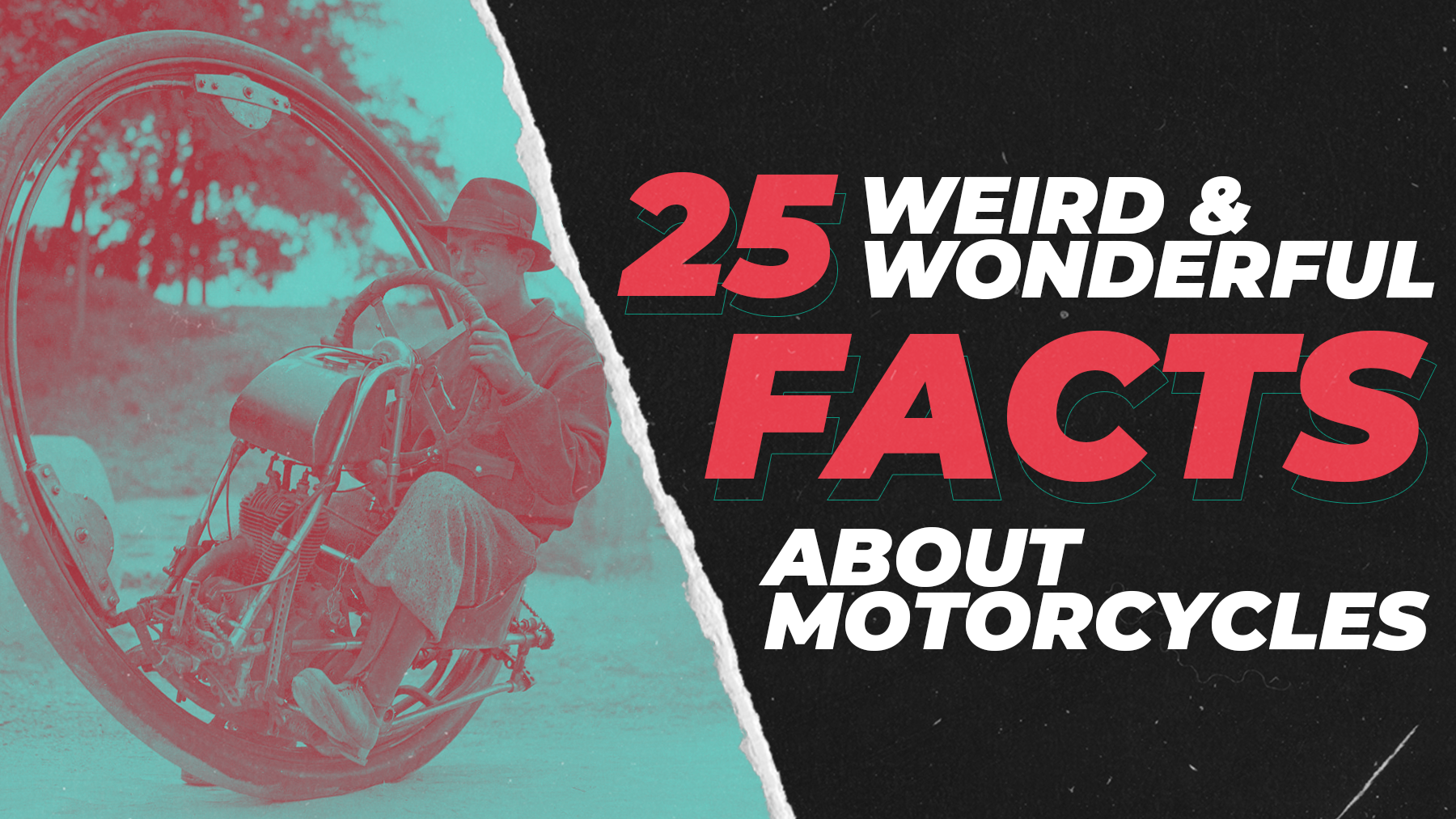 25 Weird And Wonderful Facts About Motorcycles