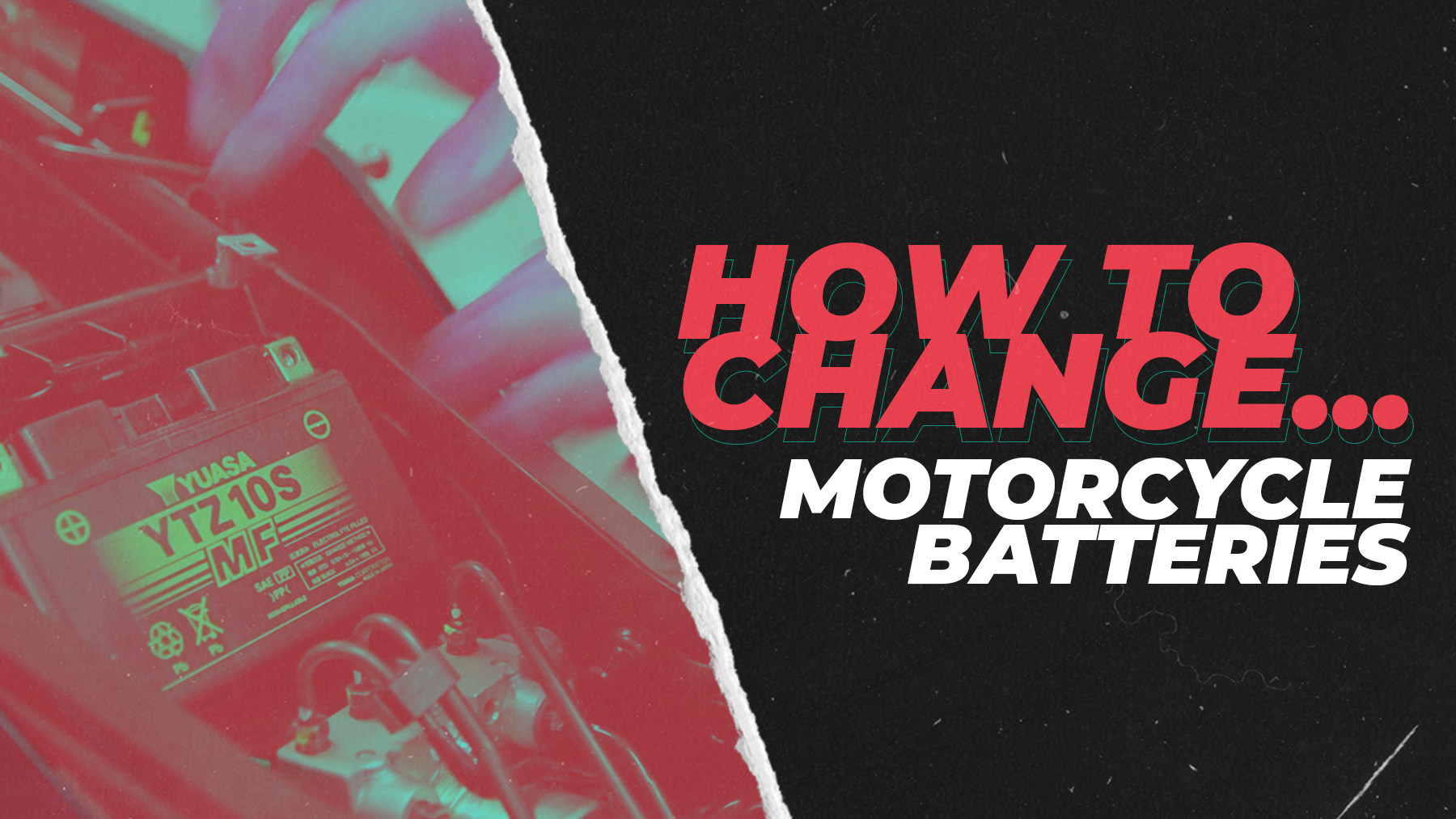 How to Change Your Motorcycle Battery