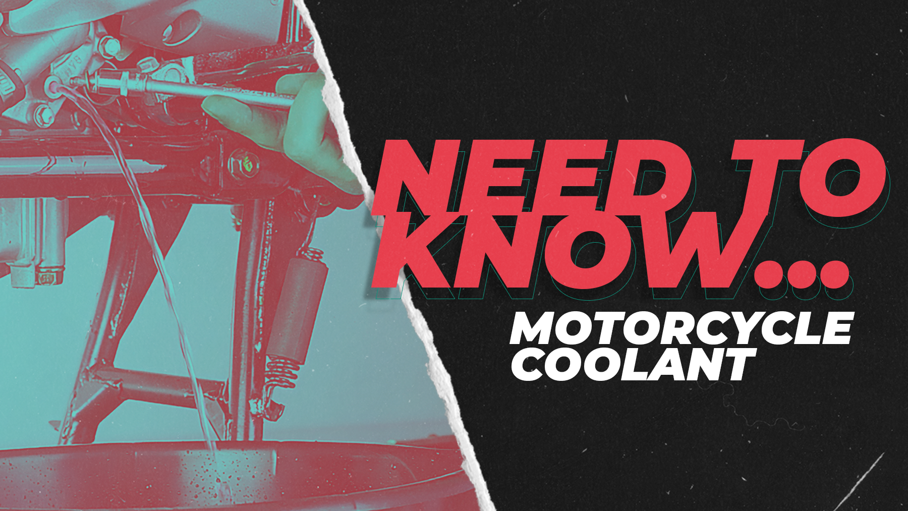 Motorcycle Coolant: The Need-To-Knows